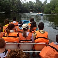 Setting out to explore the Mangrove inlet