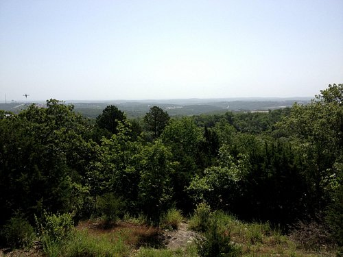 view from trail head