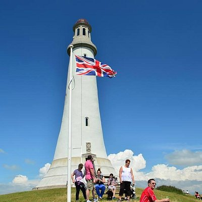 Hoad Monument is normally open during the summer months when a flag is flying outside the monume