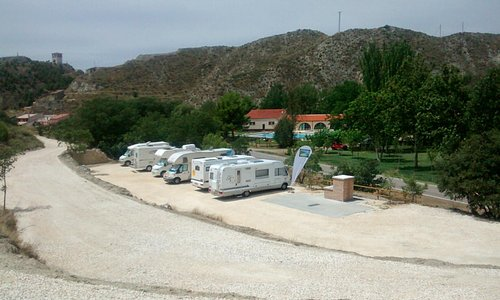 Area de servicios para autocaravanas