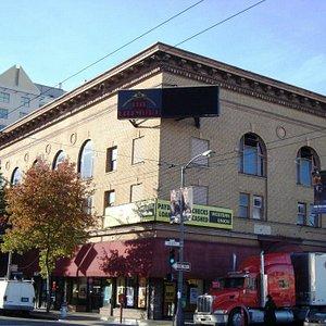 Exterior of the venue.