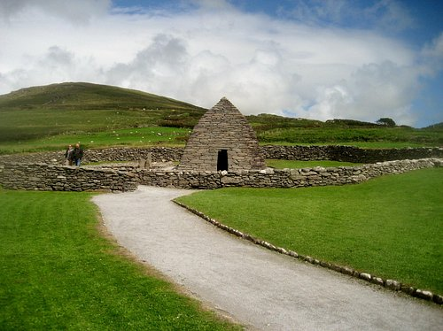 Gallarus Oratory from a distance