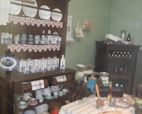 Cozinha exposta no museu