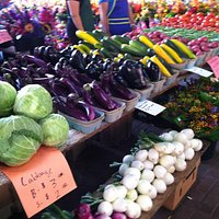 August produce at the St. Paul Farmers' Market
