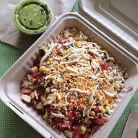Burrito Bowl and Guacamole!