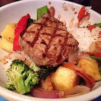 Fish hoisin bowl.