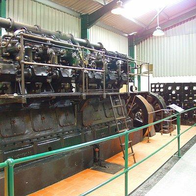 32 ton 1930 Ruston generator from BBC Moorside Edge