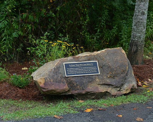 One of the 8 beautiful boulders at Riverside Park.
