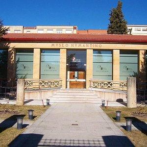 Fachada del Museo Numantino, Soria