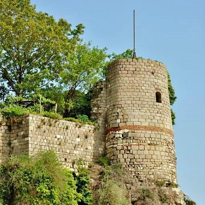 One of the towers of the castle