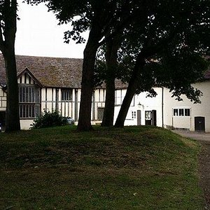 The Commandery from the rear gardens