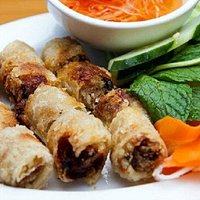 Our spring rolls are crispy and full of flavor!