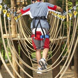 Parco avventura in Pineta, adatto per tutte le età! ;)