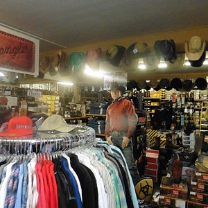 View inside store