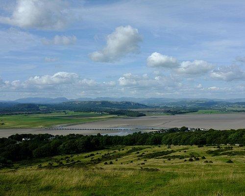 The Kent estuary from Arnside Knott