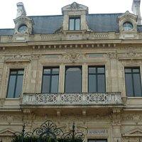 façade sur les Champs-Elysées