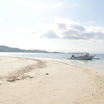 Lombok from Gili Kedis