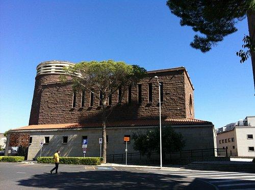La Chiesa di Carbonia a Piazza Roma
