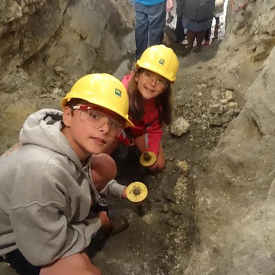 Digging for gold inside the mine