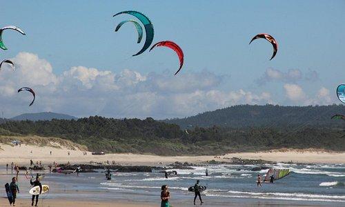 Kyte surf a Cabadelo 1