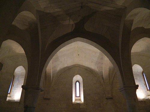 la cripta del santuario