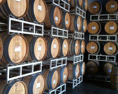 Pacific Breeze barrel room