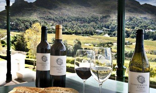 Wine tasting and platters