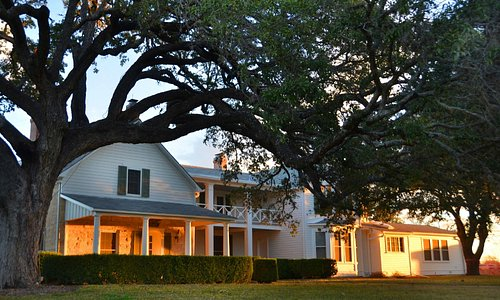 Texas White House is the most sought-after site in the park.