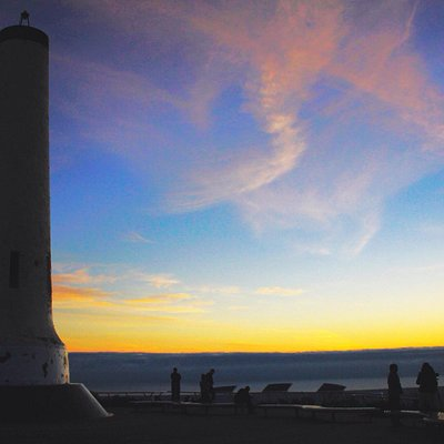 Summit sunset