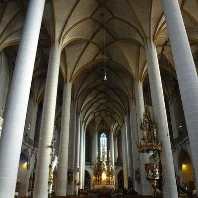 интерьер базилики Св.Мартина