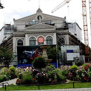 Große Renovierung am Staatstheater am Gärtnerplatz