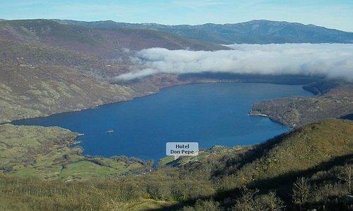 Situación en el Lago de Sanabria