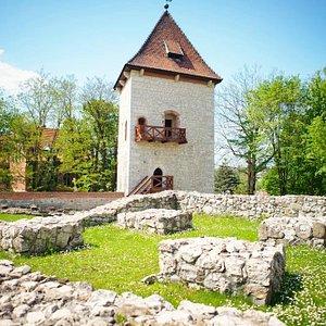 tower, Saltworks Castle in Wieliczka