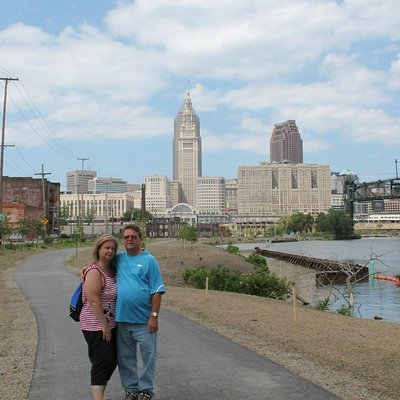 On The Towpath in Cleveland, Ohio off of Scranton Rd
