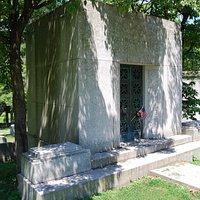 la tomba di George e Ira Gershwin