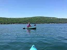 what a day to paddle on Keuka