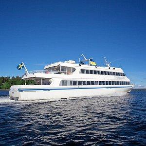 Cinderellabåtarna takes you to Stockholm's archipelago