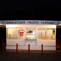 Middleton's at night...closing time.