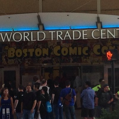 Comic Con at the WTC Boston