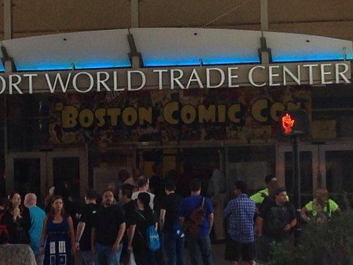 Comic Con at the WTC Boston