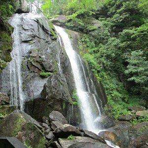High Shoals Falls - at the base