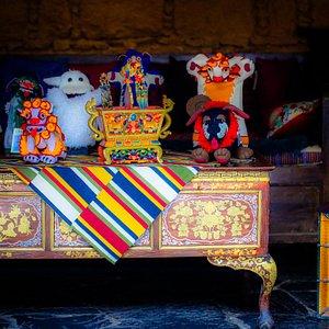 Beautiful Tibetan stuff toys