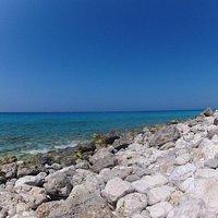 Beautiful rocks at the beach