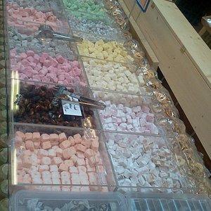 Turkish Delight i masser af farver.
