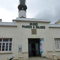 Musée des Phares et Balises : l'entrée