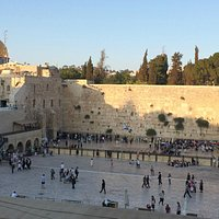 Aish building offers spectacular views of the kotel