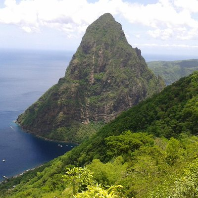 View of Piton