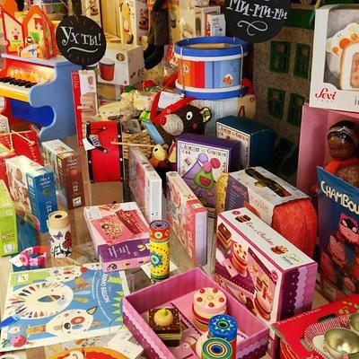 Настоящие игрушки из Европы