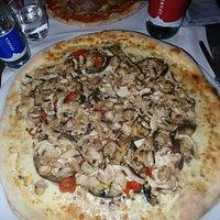 Pizza Maxi verdure + funghi