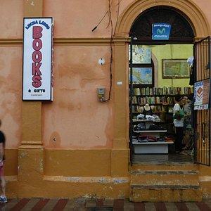 Lucha Libro after a hard rain, Aug. 2014